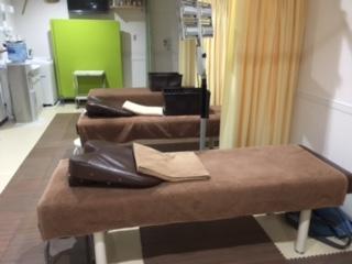 2階の治療スペース